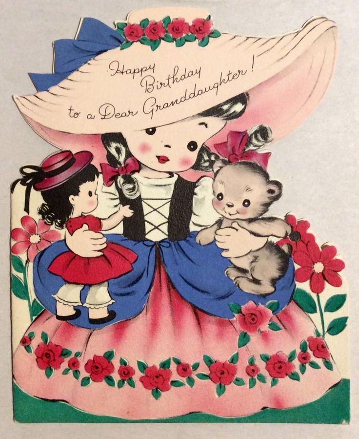 1072 best Vintage Childrens Birthday Cards images – Little Britain Birthday Card