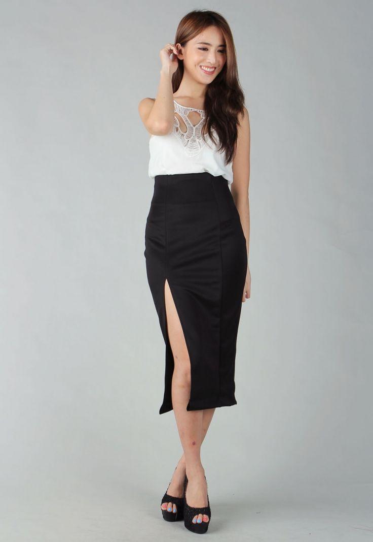 skirt-black