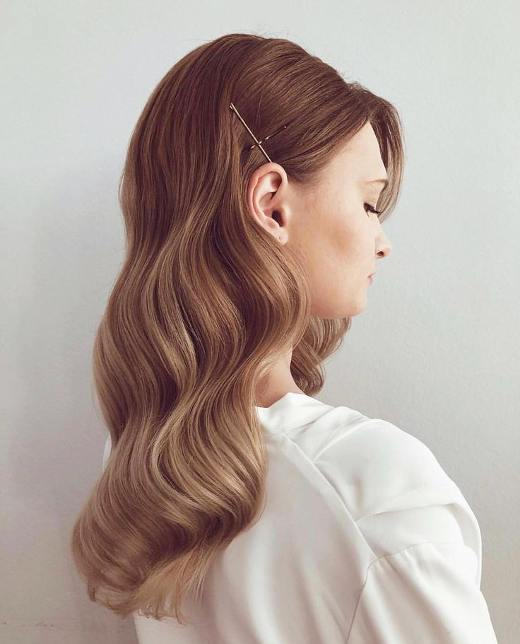 • uh-huh, honey! we never tire of the classic 'old hollywood wave'. • photo via @pinterest  #Regram via @pearlanddot