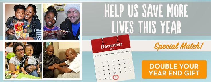Save Lives-Help Us Meet Our Year End Match www.cityteam.org/savinglives