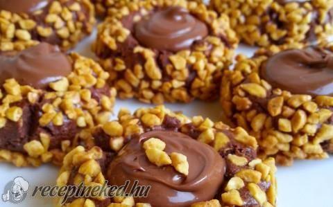Ferrero keksz recept fotóval