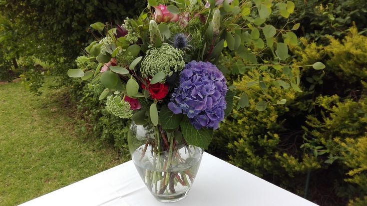 Flowers from the garden for your magical wedding