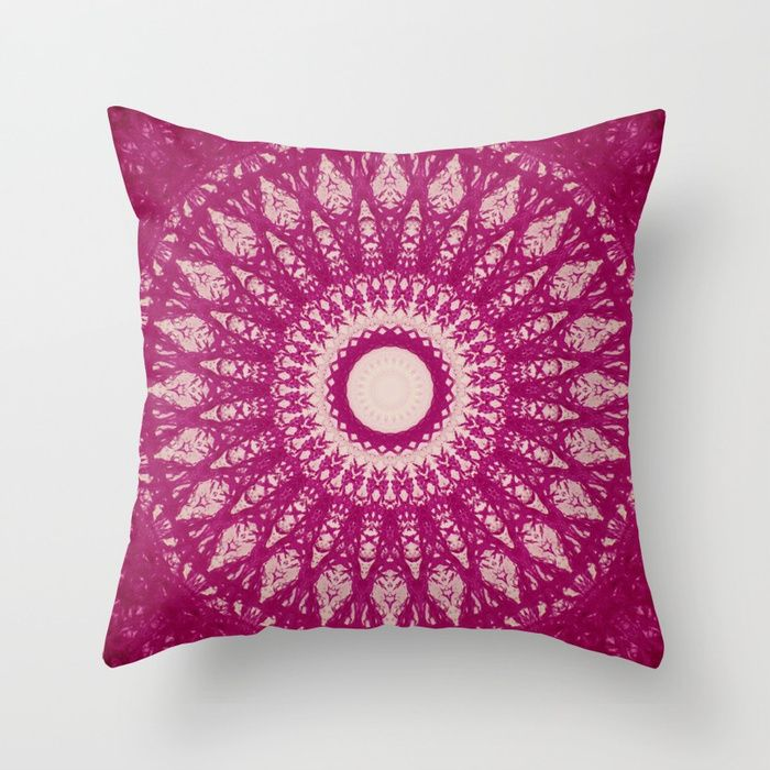 MANDALA NO. 29 #society6 Throw Pillow 💕💕 pillows  Cute and kawaii designs on pillows  for teens, girls and kids. Find decorative pillows for bedroom, with sayings or beautiful designs. #design #decor #society6 #cute #kawaii #pillow #pillows #sboar #lovely #interior #home #bedroom #bedroomdecor #animals #pets #wild #flower #floorpillow #floor #mermaid