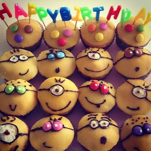 KreativePerle ♥ Blog: Minion Muffins