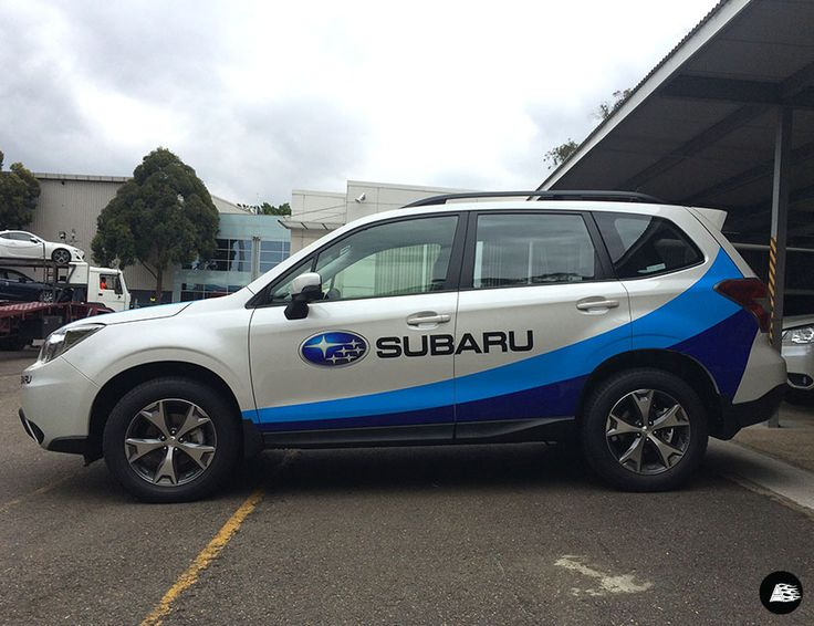 Subaru Cycling Sponsorship | Standard Decal Kit