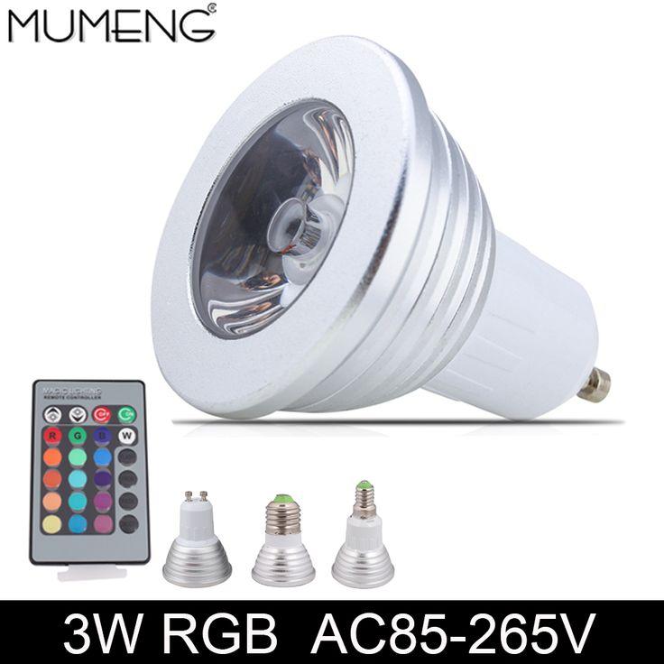 $4.14 (Buy here: https://alitems.com/g/1e8d114494ebda23ff8b16525dc3e8/?i=5&ulp=https%3A%2F%2Fwww.aliexpress.com%2Fitem%2FMUMENG-GU10-LED-Spotlight-Bulbs-E27-E14-1pcs-Chip-Light-Bulb-3W-LED-Lampadas-AC85-265V%2F32775349923.html ) MUMENG GU10 LED Spotlight Bulbs E27 E14 1pcs Chip Light Bulb 3W LED Lampadas AC85-265V Bombillas Remote control Ampoule lamps for just $4.14