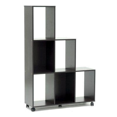 Baxton Studio Hexham Display Shelf - Dark Brown - IS-1