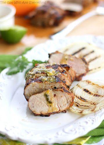 Mojo Pork Tenderloin   The Girl Who Ate Everything: Dinner, Food Recipes, Porktenderloin, Girl, Pork Dishes, Mojo Pork, Main Dishes, Pork Tenderloins