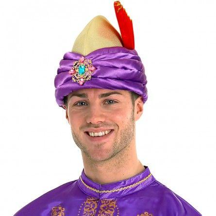 Adult Bollywood Turban Hat