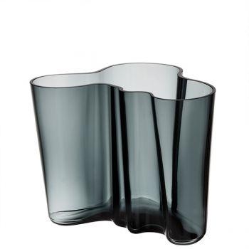 Iittala Aalto vase, 160 mm, dark grey