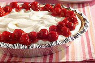 Finish off your Honey Maid Cheese Pie recipe with berries. Delicious and refreshing!