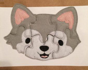 Felt Puzzle Fox