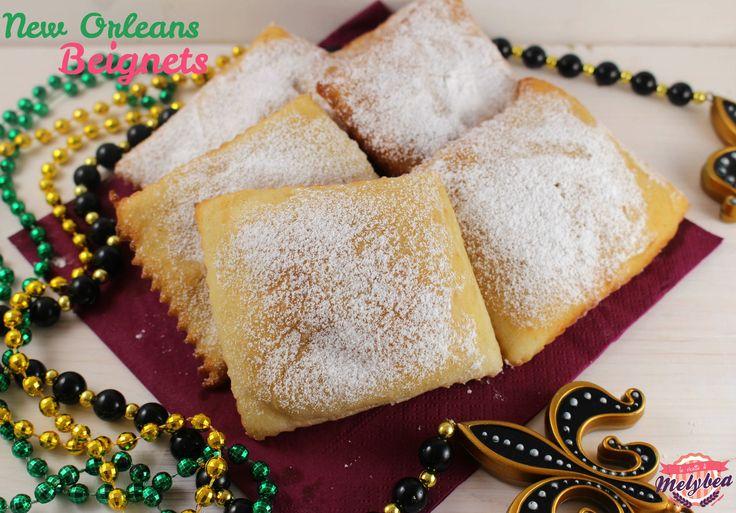 Chi e' stato a New Orleans sicuramente conosce i Beignets! Frittelle lievitate, dall'impasto semplice, leggero come una nuvola!