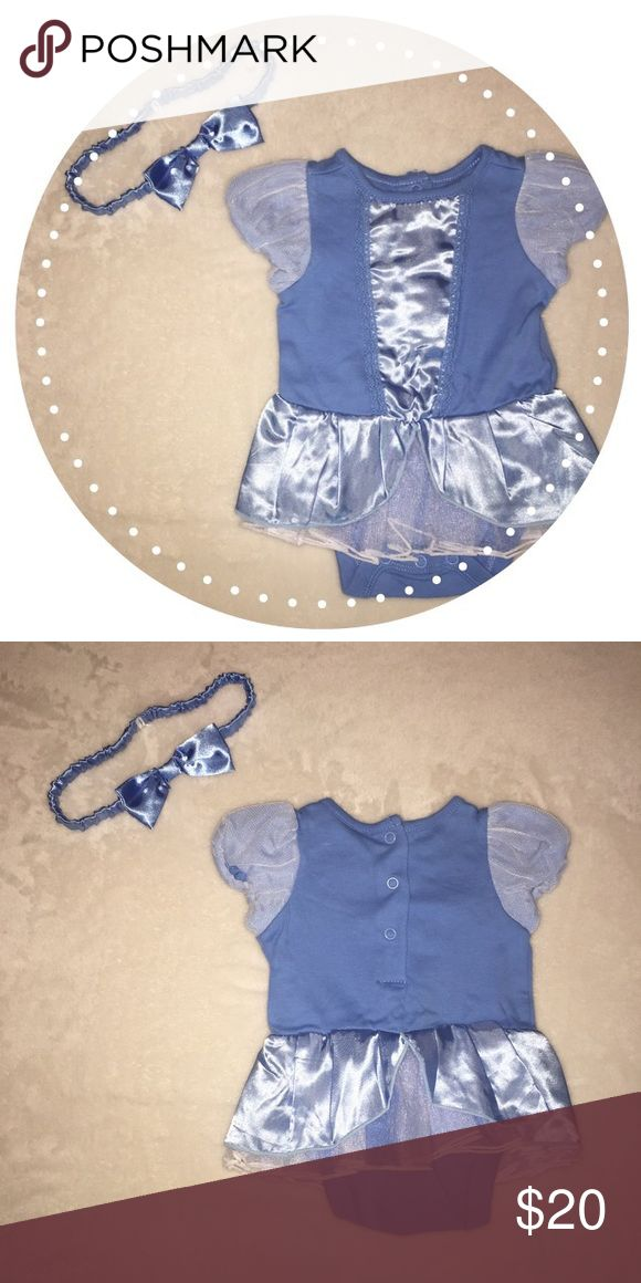 Baby Cinderella outfit  New without tags Cinderella baby outfit  Dress bodysuit and matching headband. Excellent condition. Smoke and pet free home. Bundle and save✨ Disney Dresses Casual