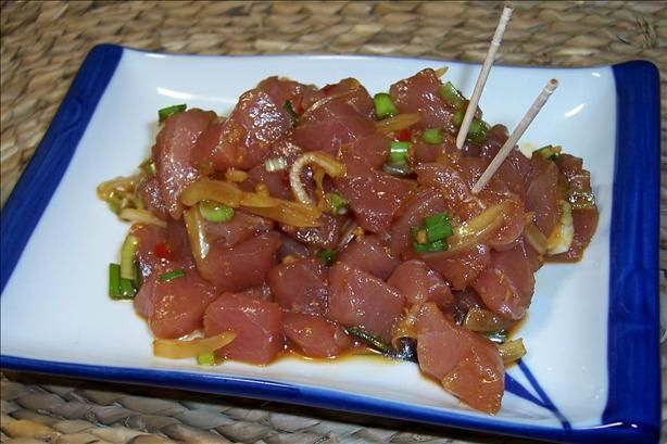 Best 20 poke recipe ideas on pinterest ahi poke tuna for Asian cuisine maui