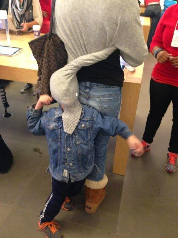 Coisas estranhas que só acontecem na loja da Apple - Ovelhas Voadoras