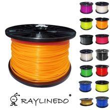 Orange Color 1Kilo/2.2Lb Quality PLA 1.75mm 3D Printer Filament 3D Printing Pen Materials