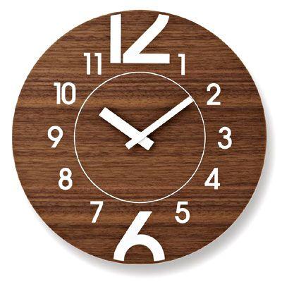壁掛け時計 北欧 木製 掛け時計 おしゃれ 。LEMNOS ( レムノス ) 壁掛け時計 北欧 木製 掛け時計 おしゃれ12+6(トゥエルヴ・プラス・シックス)【楽ギフ_包装】【在庫あり】【あす楽対応】