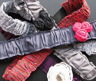 The cutest headbands ever! I can't wait to make these! Love!