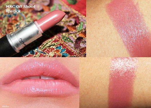 MAC-me-over-lipstick-review-Off-shoot+best pink mac lipstick for brown skin