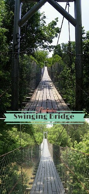 Do you have what it takes to venture across Swinging Bridge in Pawhuska?! This 120 foot long suspension bridge was built in 1926 to provide the locals a link to downtown from the south side of Bird Creek. With its high elevation over the creek below, it makes it less flood prone than the other bridges in the area. Come take a stroll across the bridge to get your heart pumping as it swings and you look down into the creek below!
