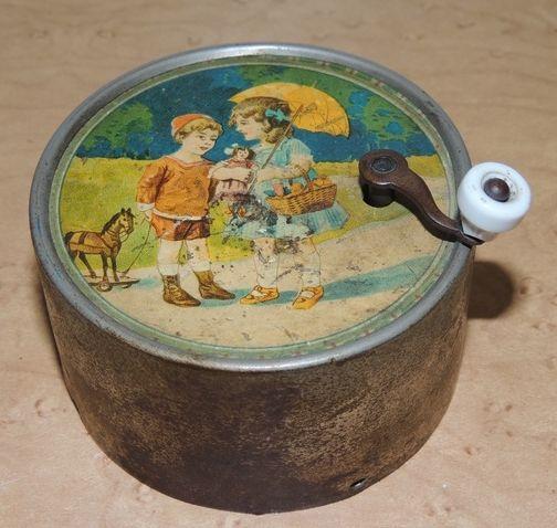 Victorian era toy music box