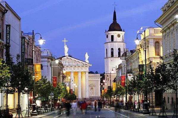 Again Vilnius in Lithuania