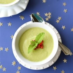 Chilled California Avocado Soup with Coconut Milk {dairy-free ...
