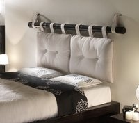 Great idea for headboard!