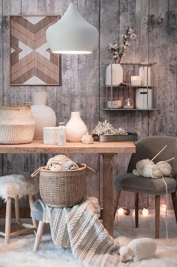 Maisons du Monde Graphic Tribu tendency: Unrefined fabrics, ethnic styles, and natural shades. See the post for more tendencies and details.