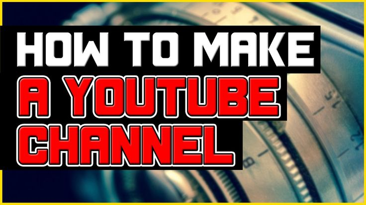 Learn how to start a Youtube Channel now by watching this video here: https://www.youtube.com/watch?v=cETwjXVUu1c
