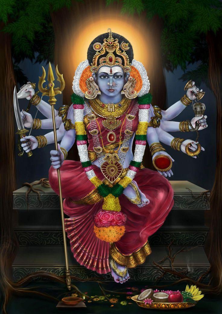 Kala Ksetram, ivashiva:   The Great Goddess Kali