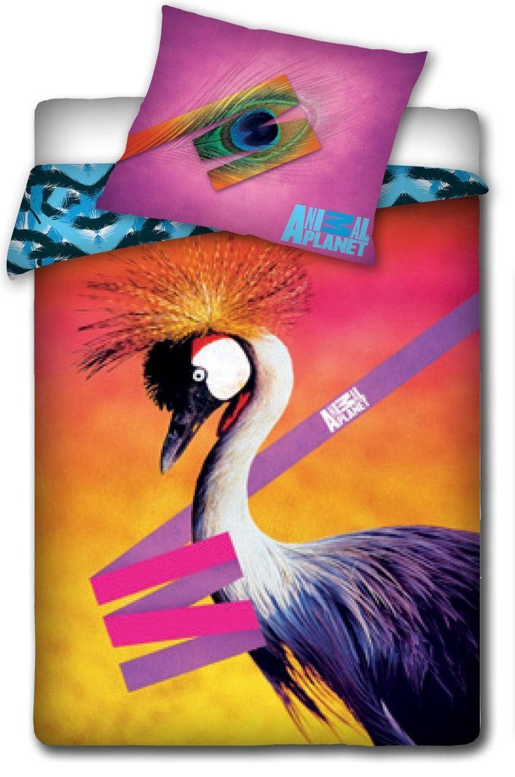 """Animal Planet """"Żuraw"""" pościel 160x200"""