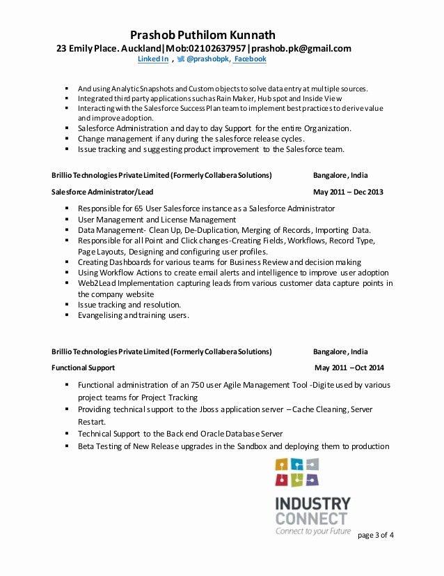 Lovely Salesforce Qa Resume Business Analyst Resume Sales Resume Examples Resume Objective