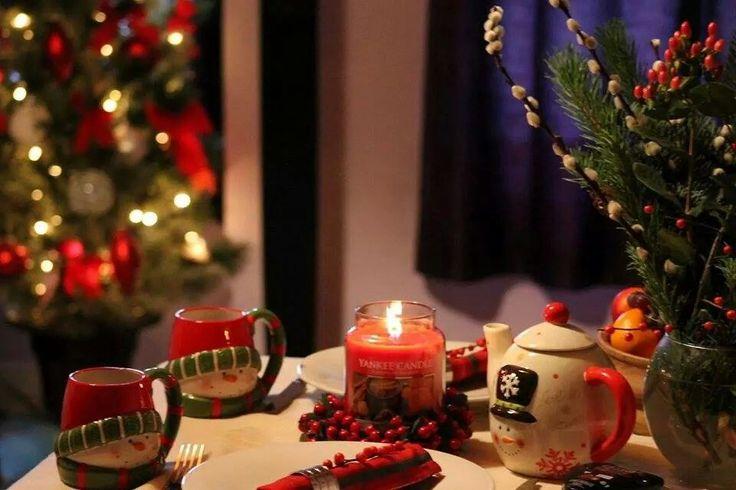 Christmas table made by Gajda
