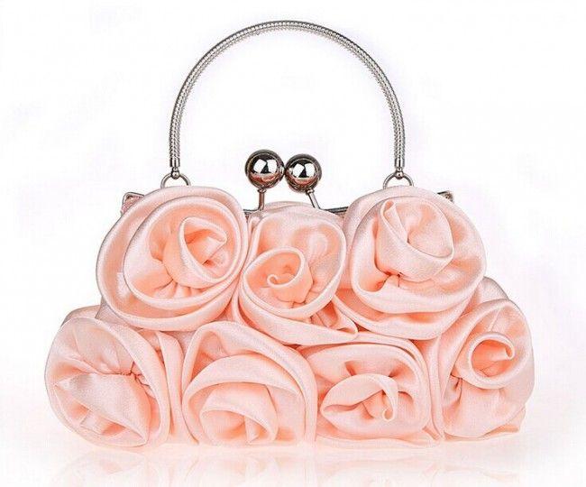 Women's Fashion Party Exquisite Flowers Clutch Bags #ClutchBag #ClutchBags