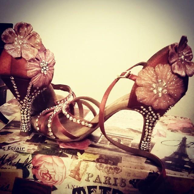 Belov'd flower dance shoes