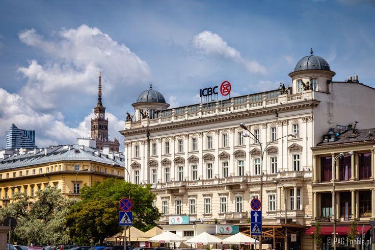 The Griffin House (Kamienica pod Gryfami), Three Crosses Square (Plac Trzech Krzyzy), Warsaw, Poland