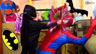Spiderman. Ярослава и Человек Паук. Игры для детей. Мумия Челендж! Tiki Taki Kids - YouTube