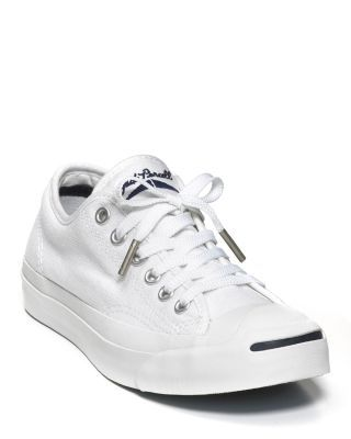 Converse Jack Purcell White Core Sneakers   Bloomingdale's