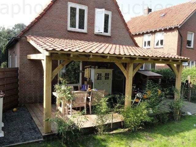 69 best images about veranda 39 s en raamzeilen on pinterest models back porches and bloemen - Veranda met dakpan ...