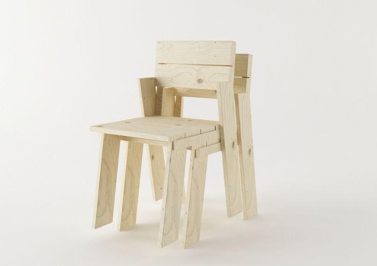 Silla Landa Chair - MueblesLUFE