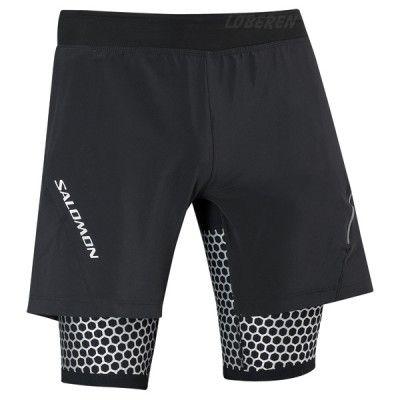 Salomon / Salomon EXO II Wings TW Shorts Herre / Herre, Løbetøj - Underdele, Shorts, Terrænløb | Løberen