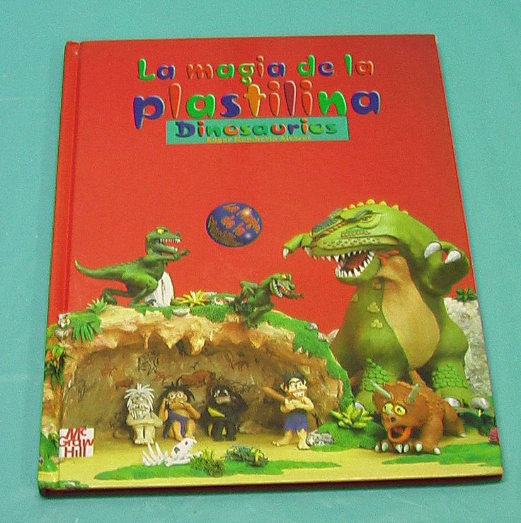 Spanish The Magic Of The Play Doh Dinosaurs Edition Book Board Child Artists