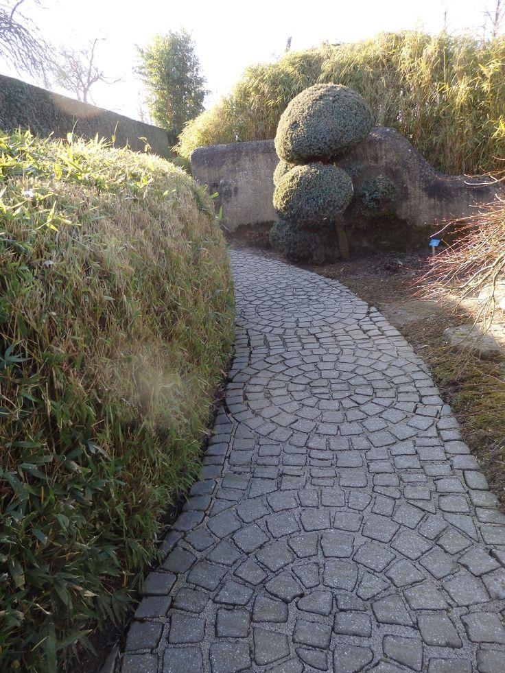 Leuk pad, qua patroon en omdat je niet ziet hoe die loopt.
