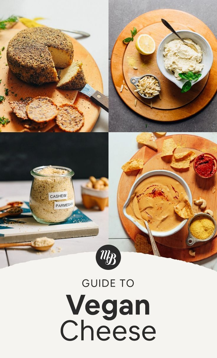 Guide To Vegan Cheese Minimalist Baker Whole Food Recipes Recipes Vegan Cheese