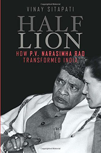 Half - Lion: How P.V Narasimha Rao Transformed India Check more at http://www.indian-shopping.in/product/half-lion-how-p-v-narasimha-rao-transformed-india/