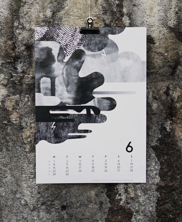 Calendar 15 Illustration - Paula Barclay Photographed by Joona Louhi