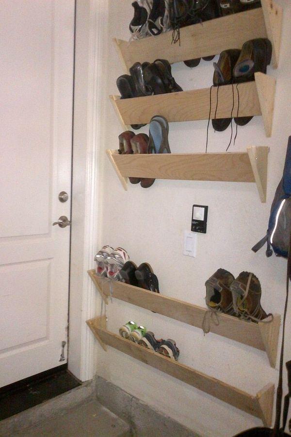 Garage Shoe Storage Diy, Garage Shoe Storage Ideas Diy
