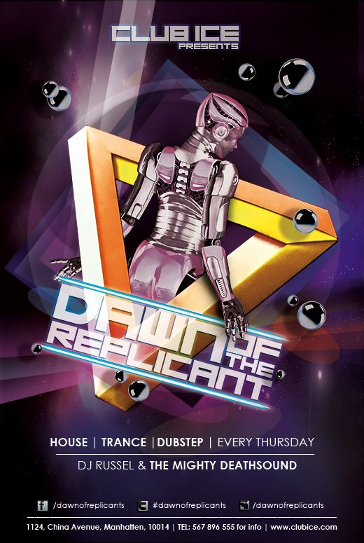 27 best Club flyer images on Pinterest Frankie knuckles, House - club flyer background